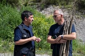 Zivilschutzübung aller Zivilschutzgruppen in Balzers