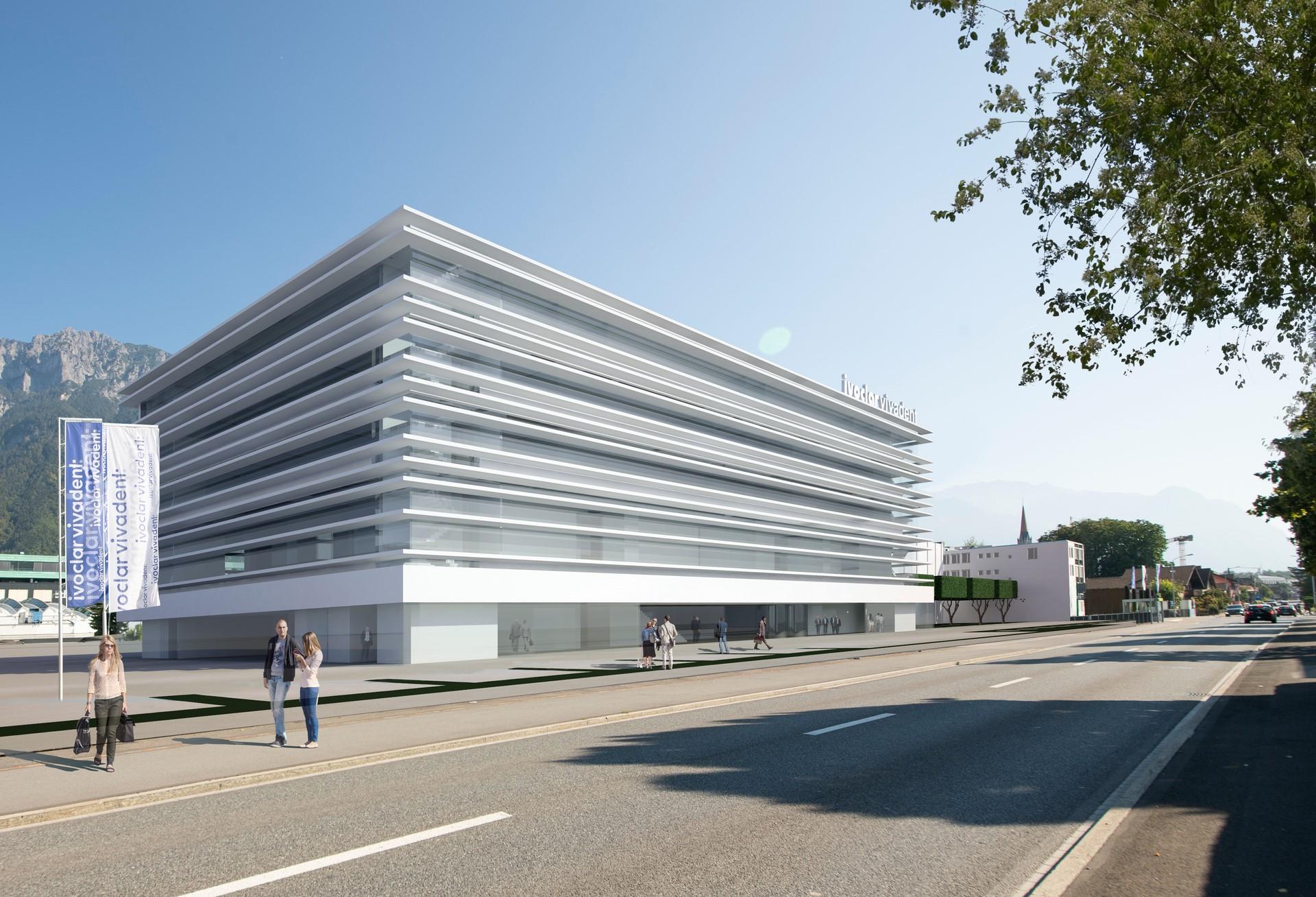 Ivoclar Vivadent baut sich zum Firmenjubiläum ein neues Hauptgebäude